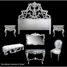 chambre baroque moderne chambre a coucher baroque argente modele carved