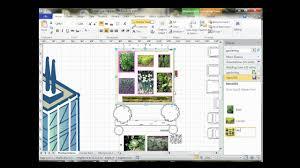 visio 2010 community garden layout wmv youtube
