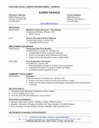 sle format resume resume format for arts students resume political science