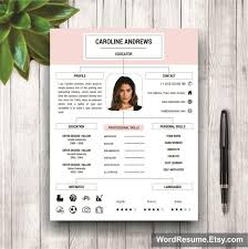 resume portfolio template modern resume template for microsoft word