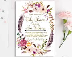 bohemian baby shower bohemian baby shower invitations marialonghi