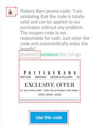 Pottery Barn Free Shipping Codes The Hottest Deals At Pottery Barn Thanks To Dealspotr Eighty