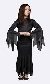 Morticia Addams Dress Girls Morticia Addams Family Adams Costume Size Med 6 8 Long Black