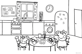 peppa pig coloring pages inside coloring pages pigs page