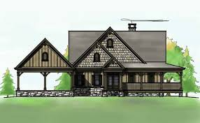 house plans with a porch 3 bedroom open floor plan with wraparound porch and basement