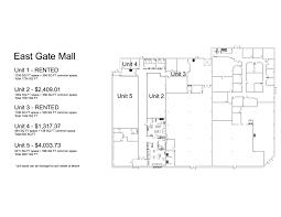 Eastgate Mall Floor Plan 1st Street Mini Mall Choice Realty Ltd