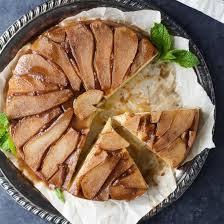 spiced pear upside down cake foodgawker