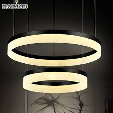 Chandelier Acrylic Modern Chandelier Acrylic Lamps 3 Ring Led Chandelier Fashion