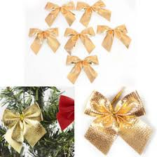 discount silver christmas tree bows 2017 silver christmas tree