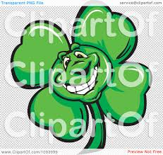 clipart smiling st patricks day shamrock clover royalty free