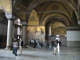 hagia sophia discovery and history deesis mosaic of christ