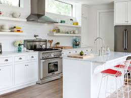 open cabinet kitchen subway tile backsplash kitchen open shelves glass modern green
