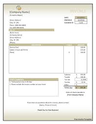 download sample invoice invoice template free 2016 free download