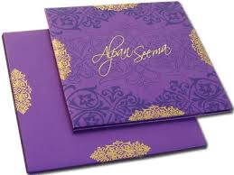 Indian Wedding Card Samples Collection Offers Unique And Exceptional Designer Indian Wedding