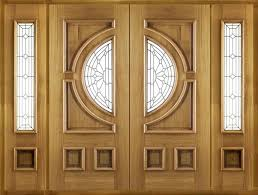 Interior Door Transom by Accessories Wood Front Door With Sidelights Plus Frosted Transom