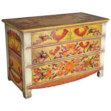 rare and scarce cape cod folk art modernist chest of drawers at