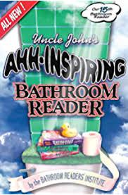 Uncle John Bathroom Reader Uncle John U0027s Bathroom Reader Golden Plunger Awards Uncle John U0027s