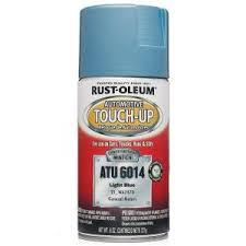 rust oleum automotive 8 oz bright aqua auto touch up spray 6