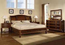 Modern King Bedroom Sets by Bedroom Inspiring Bedroom Design With Dark Brown Cherry Bed Frame