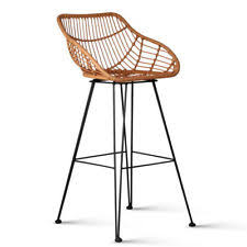 rattan bar stools ebay