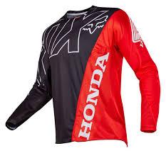 motocross gear closeout fox racing 360 honda jersey revzilla