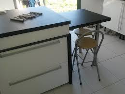 table coulissante cuisine ilot de cuisine et table coulissante cuisine and kitchens