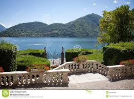 Lake Como Italy Map Villa Carlotta Lake Como Italy Stock Photo Image 53424445