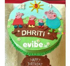 peppa pig cake order peppa pig theme cake online birthday cake in bangalore