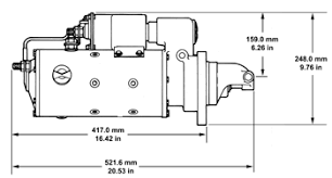 50mt starter motor specifications delco remy