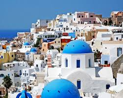 santorini greece photography travel photography cobalt