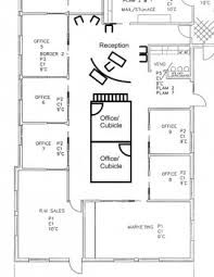 Floor Plans With Furniture Mesmerizing 70 Small Office Layout Plans Inspiration Design Of