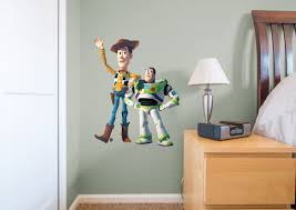 woody u0026 buzz fathead jr wall decal shop fathead toy story