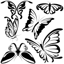 Butterfly Tattoos - butterfly shapes