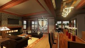hgtv prairie style custom home interior youtube