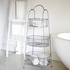 Tiered Bathroom Storage Wire Tiered Bathroom Storage Available Cox Cox Home Goods