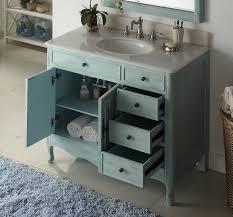 distressed light blue daleville bathroom vanity hf 837lb bs