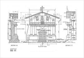 modren architectural drawing scale window sections at various