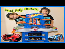 step2 wheels table step 2 wheels road rally raceway toy unboxing and review youtube