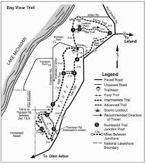 Michigan Dnr Lake Maps by Ati Consulting Northwestern Michigan Trail Guide For Hiking