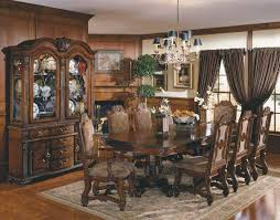 China Cabinet And Dining Room Set Outstanding Dining Room Set With China Cabinet Collection