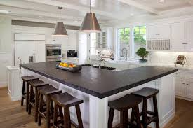 kitchen with l shaped island l shaped island kitchen traditional with materials