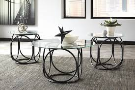 ashley furniture round coffee table 25 inspirations of ashley furniture glass coffee table