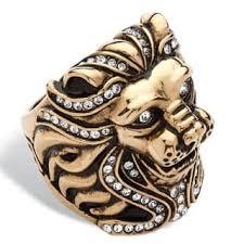 art glass lion ring holder images Buy crystal glass beaded rings online at our jpg