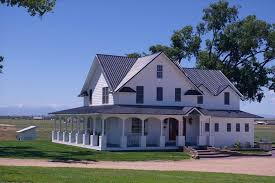 colonial farmhouse plans the images collection of around porch country house plans floor