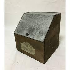 boite de cuisine boite de cuisine bois et zinc à poser ou à suspendre