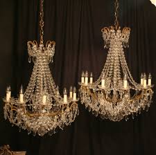 Chandeliers Uk A Pair Of 10 Light Antique Chandeliers 253187