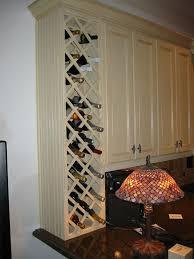 wine rack kitchen cabinet kitchen wine rack idea but i don t need this much storage