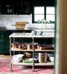 Kitchen Island Legs Kitchen Furniture Metal Kitchen Island With Butcher Block Top On