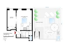 mad men floor plan 846 president st park slope 1br with roof deck for 585k streeteasy