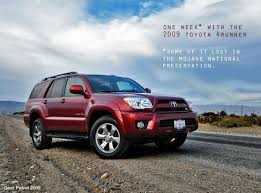 2008 toyota 4runner sport edition reviews one week with the 2009 toyota 4runner a review and a few lessons